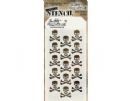 THS064 Stampers Anonymous Tim Holtz Layering Stencil - Crossbones
